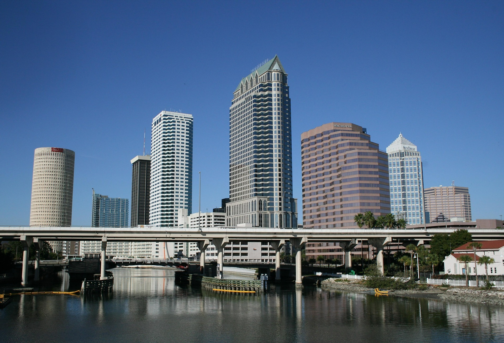 Restaurants And Recreation Along The Tampa Riverwalk