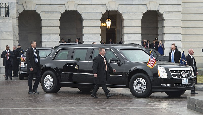 President Trump's Limo Is Armored & Ready In 2018!
