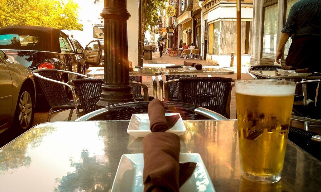 Having a beer - Tampa adventures